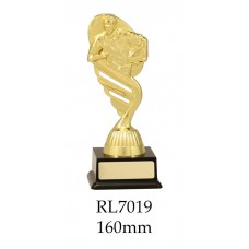 Rugby Trophies RL7019 - 160mm Also 175mm & 195mm