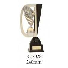 Rugby Trophies RL7028 - 240mm Also 260mm & 280mm