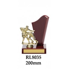Rugby Trophies RL8035 - 200mm Also 240mm & 280mm