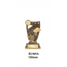 Swimming Trophies RL968A - 130mm Also 150mm & 165mm