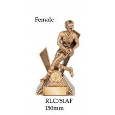 AFL Aussie Rules Female RLC751AF -150mm Also 170mm & 200mm