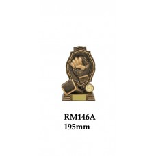 Boxing Kick Boxing Trophies RM146A - 195mm Also 270mm