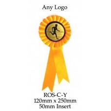 Rosettes - ROS-C-Y - 120mm x 250 - 50mm Insert