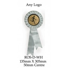 Rosettes - ROS-D-WH - 135mm x 305 - 50mm Insert