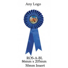 Rosettes - ROS-A-BL - 86mm x 205 - 50mm Insert