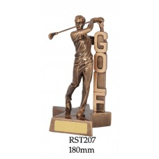 Golf Trophies RST207 - 180mm Also 210mm
