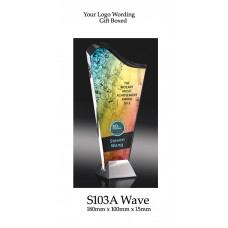Corporate Awards Glass S103A - 180mm  (Min Qty 10)