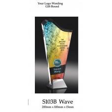 Corporate Awards Glass S103B - 200mm (Min Qty 10)
