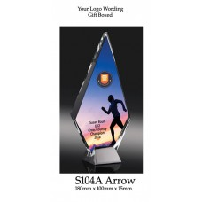 Corporate Awards Glass S104A - 180mm (Min Qty 10)