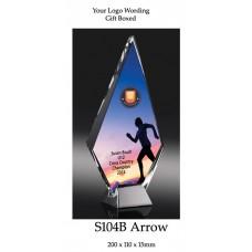 Corporate Awards Glass S104B - 200mm (Min Qty 10)