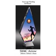 Corporate Awards Glass S104C - 230mm (Min Qty 10)