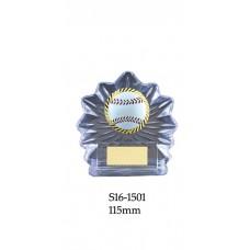 Baseball Softball Trophies S16-1501 - 115mm Also 130mm