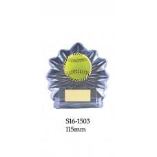 Baseball Softball Trophies S16-1503 - 115mm Also 130mm