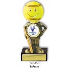 Baseball Softball Trophies S16-1511 - 149mm