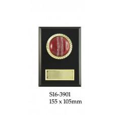 Cricket Plaque S16-3901 - 155mm x 105mm