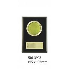 Tennis Plaque  S16-3905 - 155 x 105mm