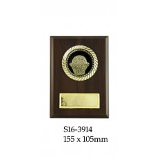 Basketball Plaque S16-3914 - 155 x 105mm
