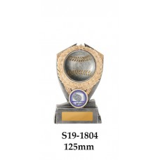 Baseball Trophies S19-1804 - 125mm Also 150mm & 175mm