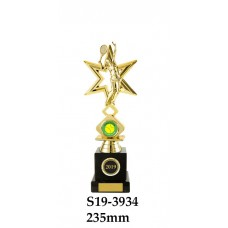 Tennis Trophies Female S19-3934 - 235mm Also 260mm & 295mm