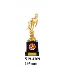 Surf Life Saving Trophies Male S19-4309 - 195mm Also 225mm & 255mm