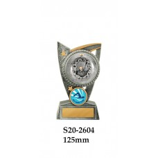 Swimming Trophies  S20-2604 - 125mm Also 150mm & 175mm