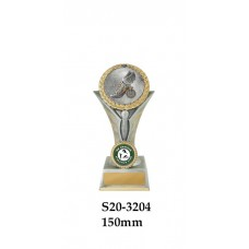 Athletics Trophies S20-3204 - 150mm Also 175mm 195mm & 225mm