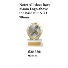Athletics Trophies S20-3301 - 90mm Also 110mm & 130mm