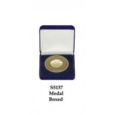 Cricket Medals Boxed S5137