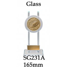 AFL Aussie Rules Glass SG231A - 165mm Also 190mm & 215mm
