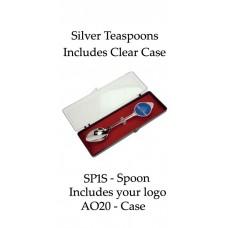 Teaspoons - Silver Custom Logo - SP1S