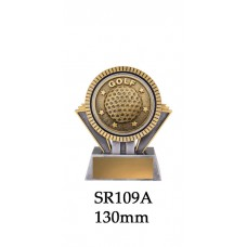 Golf Trophies SR109A - 130mm Also 155mm & 180mm