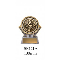 Music Trophies SR121A - 130mm Also 155mm & 180mm