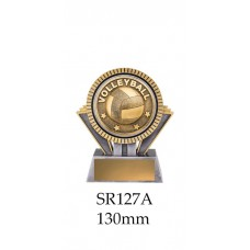 Volleyball Trophies SR127A - 130mm Also 155mm & 180mm