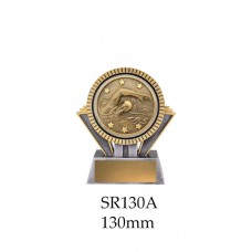 Swimming Trophies SR130A - 130mm Also 155mm & 180mm