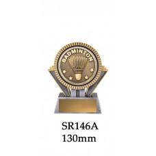 Badminton Trophies SR146A - 130mm Also 155mm & 180mm