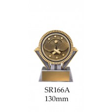 Table Tennis Trophies SR166A - 130mm Also 155mm & 180mm
