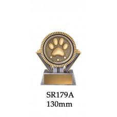 Novelty Trophy - Dog Paw SR179A - 130mm Also 155mm & 180mm