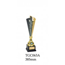 Trophy Cups TGC063A - 385mm - Also 405mm  450mm & 465mm - Available Silver & Gold