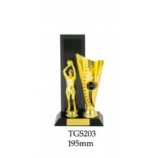 Basketball Trophies TGS203 - 195mm Also 220mm & 245mm