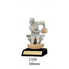 Rugby Trophies U139 - 100mm