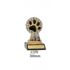 Novelty Pet Dog Award U179 - 110mm