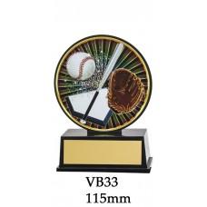 Baseball Softball Trophies VB33 - 115mm