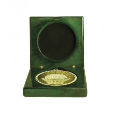 Medals Case Mirror Green Timber - 1403/2GN - 92mm x 92mm suit 70mm Medal