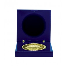 Medals Case Mirror Blue Timber - 1403/1RB - 70mm x 70mm suit 50mm Medal
