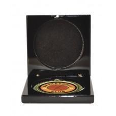 Medals Case Mirror Black Timber - 1403/2BK - 92mm x 92mm suit 70mm Medal