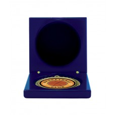 Medals Case Mirror Blue Timber - 1403/2RB - 92mm x 92mm suit 70mm Medal