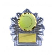 Tennis Trophies Acrylic W14-5108 - 115mm