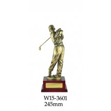Golf Trophies W15-3601 - 245mm Also 307mm & 405mm