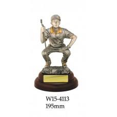 Golf Trophies W15-4113 - 195mm
