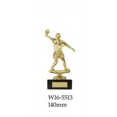 Table Tennis Trophies Male W16-5513 - 140mm